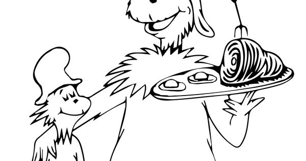 green eggs and ham coloring page young womens pinterest green eggs hams and egg