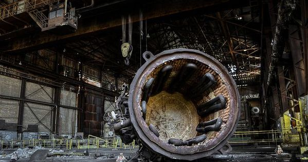 7 Incredible Abandoned Steel Mills Abandoned Steel Mills