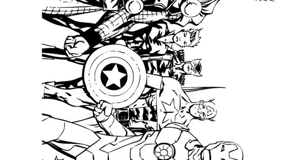 avengers comic coloring page coloring pages pinterest book comic books and avengers comics