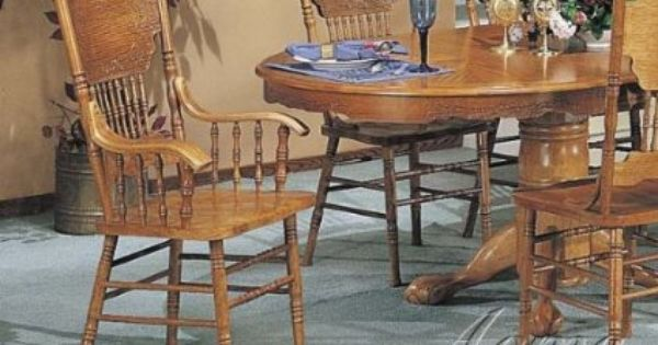 Teds Woodworking Chair Oak Dining Room Chairs Oak Armchair