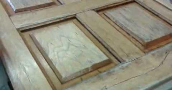 Restaurar puertas antiguas de madera youtube art - Restaurar puertas antiguas ...