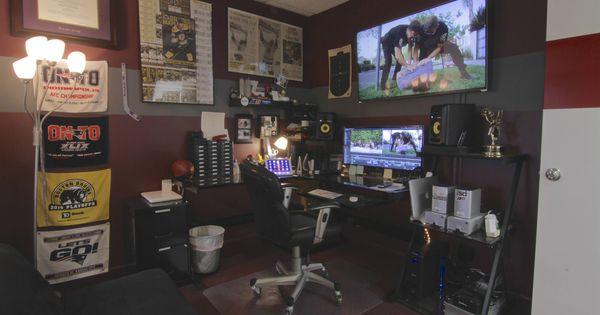 Filmmaker/Video Editor Office Battlestation (Ultrawide