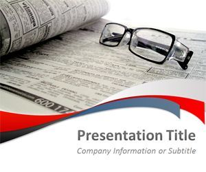 Free Media Plus News Powerpoint Template Powerpoint Template Free Powerpoint Templates Powerpoint
