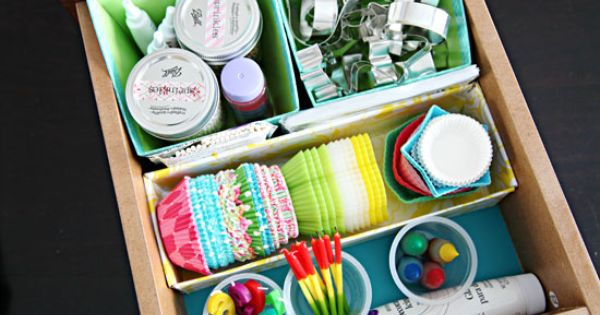 Baking Drawer Organization