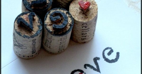 Make your own adorable handcarved stamps from upcycled wine corks! A fun,