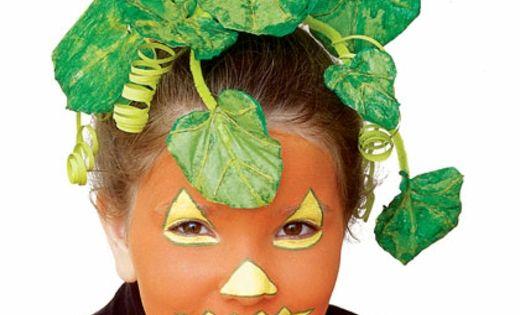 Maquillage Citrouille Enfant Halloween Deguisement Mania Halloween Pinterest Potirons