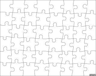 Jigsaw Puzzle Templates Con Imagenes Carta De Amor