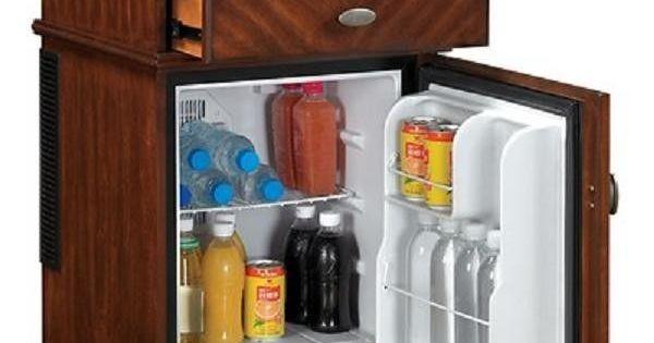 Compact Refrigerator End Table Furniture Mini Fridge Chest