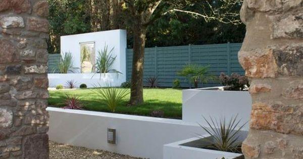 Mur de cl ture 98 id es d 39 am nagement murs de jardin - La maison ah au bresil par le studio guilherme torres ...