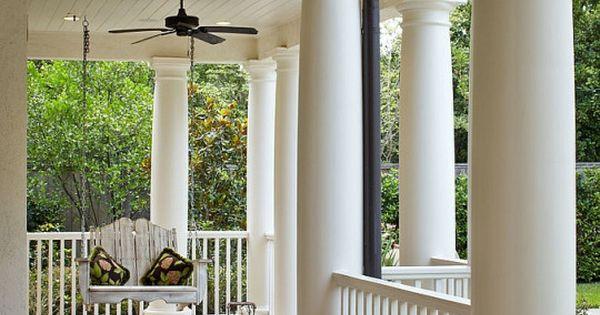 Now that 39 s a front porch ideas varias pinterest for Porches de casas pequenas