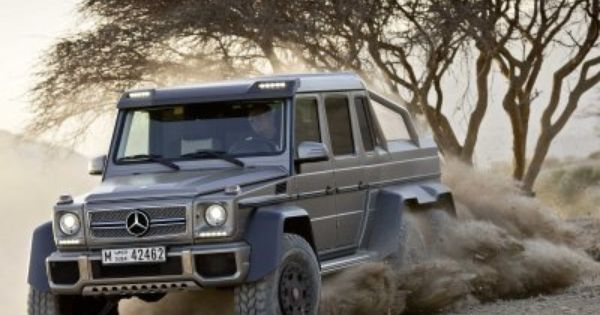 Here S The 6 Wheeled Monster Mercedes That Will Reportedly Battle
