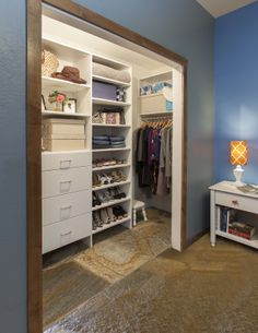 Deep Reach In Closet Closet Renovation Bedroom Organization Closet Bedroom Closet Design