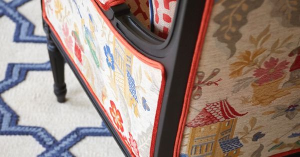 Red white and blue chinoiserie chinoiserie chic for Asiatisch wohnen