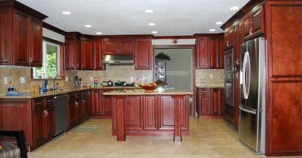 Cayenne cognac ready to assemble kitchen cabinets price for Kitchen cabinets price range