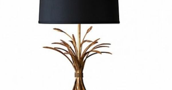 Demeter Gold Wheat Lamp Table Lamp Lamp Traditional Table Lamps
