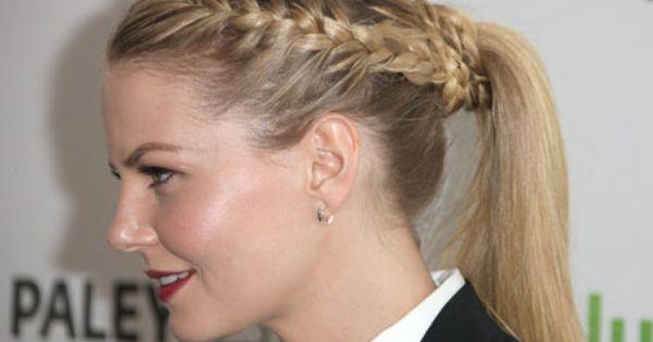 Jennifer Morrison Braided Pony