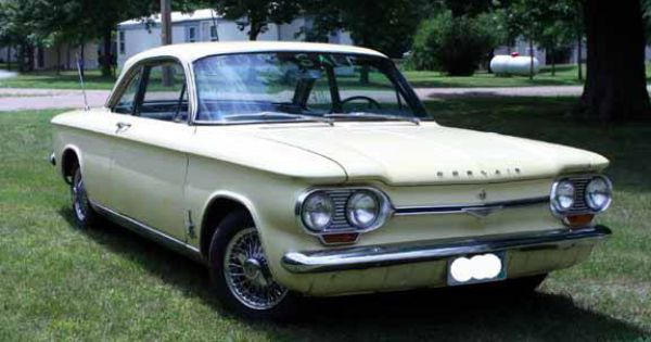64 Coupe Chevrolet Spyder Chevrolet Corvair