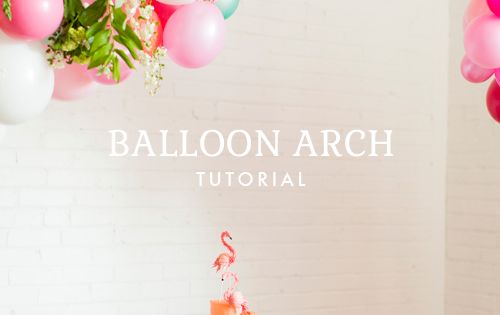 How to make a balloon arch - I never knew you could