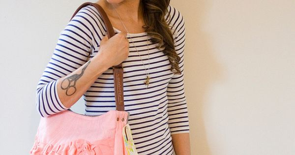 I'd use this as a cute diaper bag! - check out these