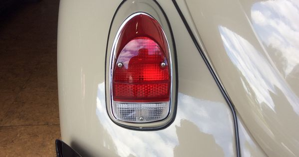 Vw Red White Tail Light Lens American Style Left Or Right Beetle 1968 1970 Tail Light Beetle American Style