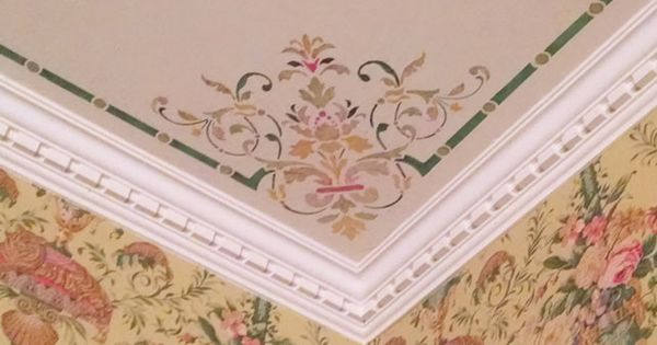 Victorian Ceiling Stencil Set More Stenciling Ceilings