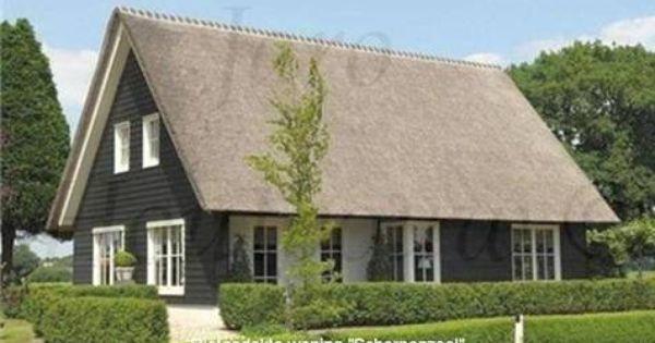 Rietgedekte woning Scherpenzeel is een strak landelijk huis met een ...
