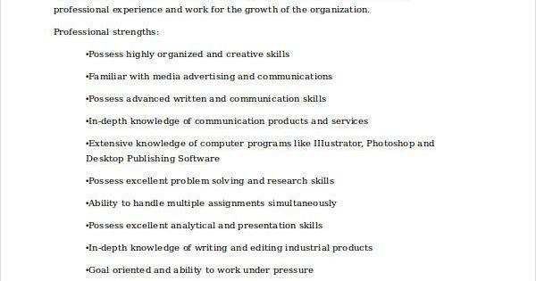 Marketing Communications Specialist Resume , Marketing Resume - communications specialist resume
