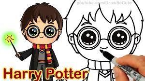 Image Result For Draw So Cute Harry Potter Desenhos Kawaii