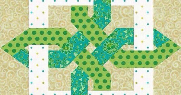 Celtic Knot Variation Quilting Pinterest Patchwork A