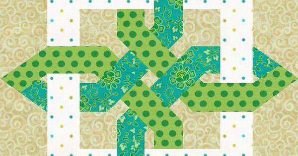 Celtic Knot Variation Quilting Pinterest Patchwork A