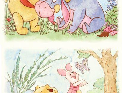 Lazy Daze Winnie the Pooh 4-Piece Wall Art SALE - Wall ...
