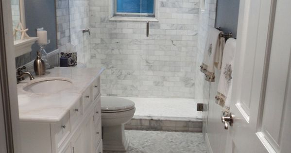 For master bath: HGTV: Blue walls paint color, white carrara marble hex