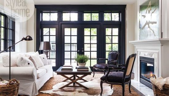 Just Beginning Our Renovations The Design Decisions And The Nitty Gritty Choices Of Where To Put E Interior Window Trim Interior Windows French Doors Interior