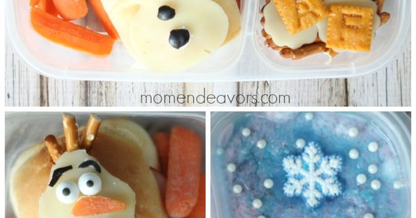 make 14 snacks and meals with olaf from disney 39 s frozen school lunch olaf and bento. Black Bedroom Furniture Sets. Home Design Ideas