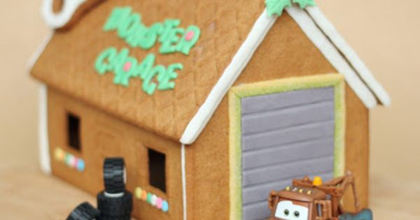 Ikea Gingerbread House Kit Monster Garage Cute Food For