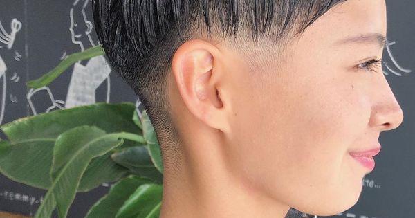 倉田聡子 theremmy hairsalonはinstagramを利用しています 潔い女性の刈り上げベリーショート 少ないお休みにtheremmyまで本当にありがとうございます これからも素敵ショートにするよ さとっこゲスト ベリーショート