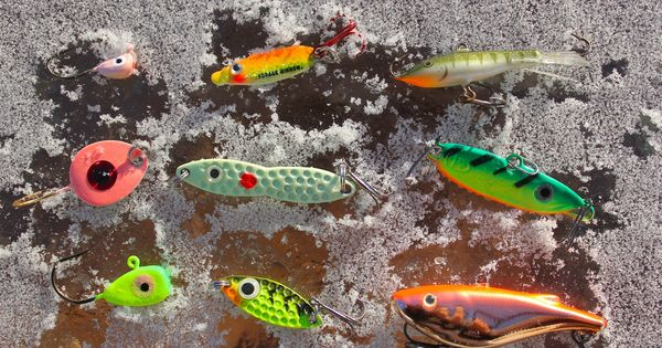 Top walleye lures ice fishing pinterest fish and ice for Best ice fishing bait