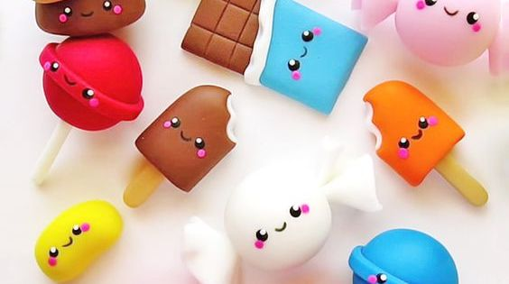 Squishy Unicorn Poop : Kawaii Food Dessert Recipes kawaii? Pinterest Arts and crafts Pinterest