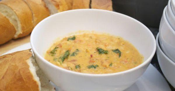 Tuscan White Bean Soup | Soups & Stews | Pinterest | White Bean Soup ...