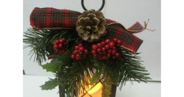 Home Accents Holiday - Lanterne des fêtes de 25,4 cm avec bougie à ...