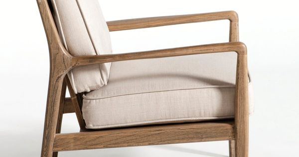 Fauteuil Dilma, Am.Pm : petit salon : Pinterest : Linens, Woods and Chair bench
