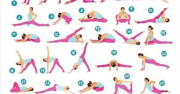 Упражнения для девушках в домашних условиях в картинках 4