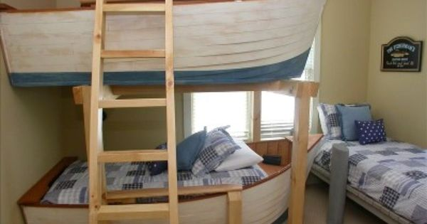 Row Boats With Dock Beds Kids Bedroom Furniture Cool Bunk
