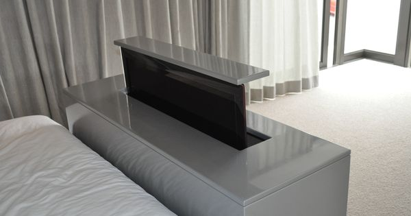 tv at the foot of your bed definition automation tv lifts pinterest tvs bedrooms and hide tv. Black Bedroom Furniture Sets. Home Design Ideas