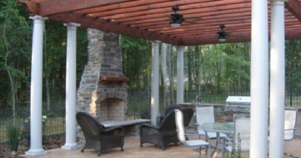Firerock Outdoor Fireplace Kit Outdoor Fireplaces And