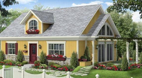 paysanne les maisons bonneville our dream house. Black Bedroom Furniture Sets. Home Design Ideas