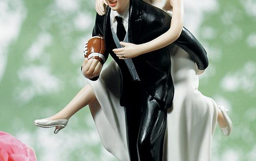 Grooms Cake Football Cake Topper | Football Cake Toppers Cake And Wedding Cake