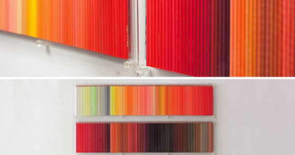 Whoa. Colored pencils as decor. wallart