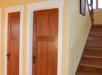 Photos Of Oak Doors White Trim Pictures