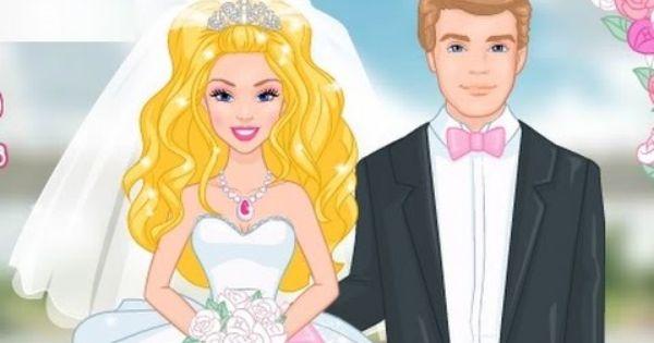 باربي الاميرة ونجمة النجوم زواج باربي العاب كرتون جديدة كاملة 2015 Barbie Cartoon Barbie Princess Cartoon Games